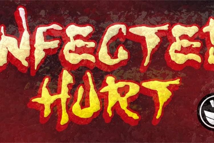 WILD3 Infected Hurt Font