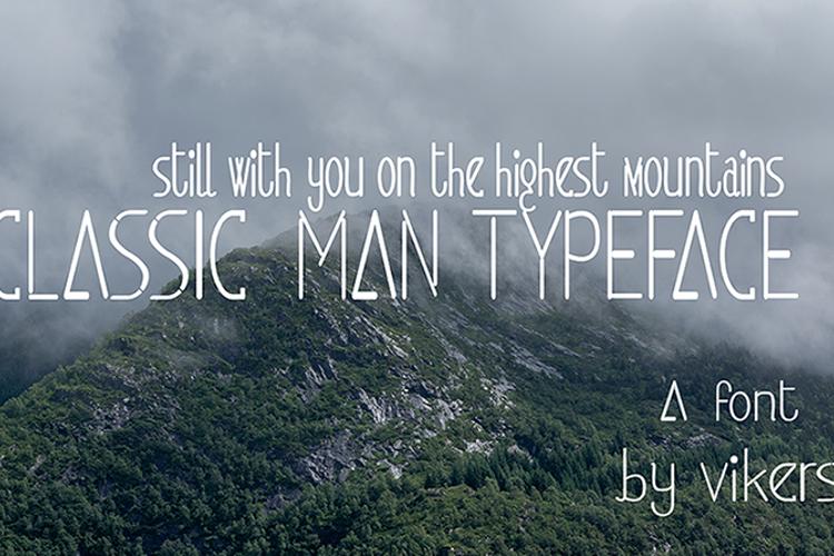 classicman Font
