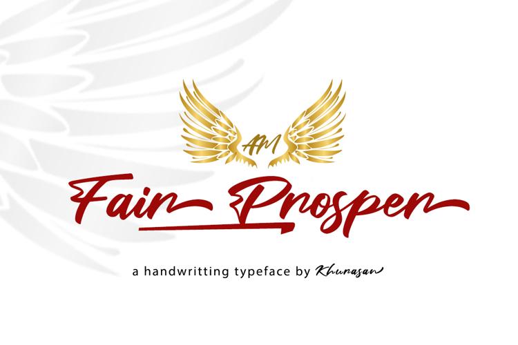 Fair Prosper Font