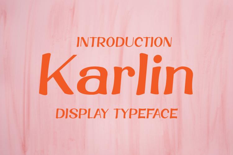 Karlin Font