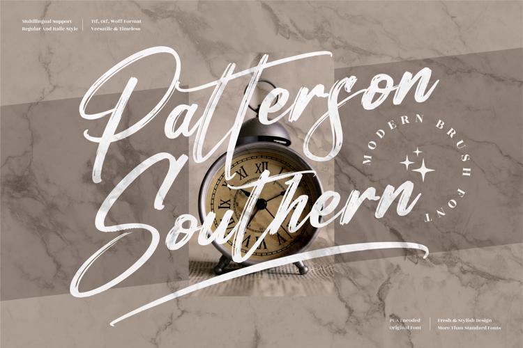 Patterson Southern Font