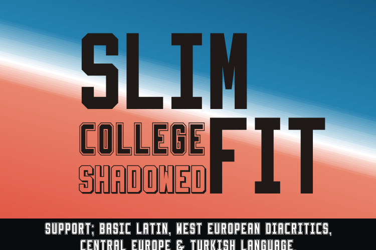 Slimfit Font