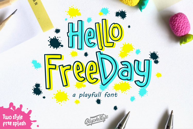 Hello Freeday (Demo) Font