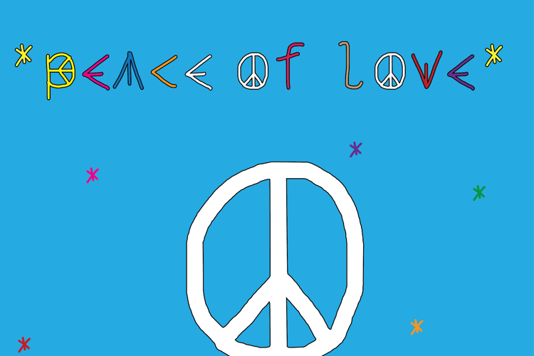 peace of love Font