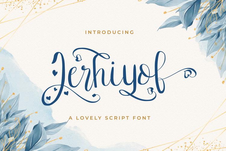 Jerhiyof Font