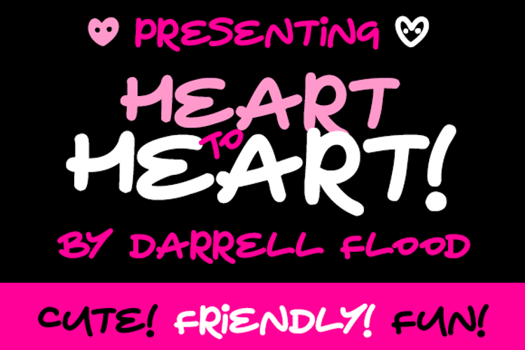 Heart To Heart Font