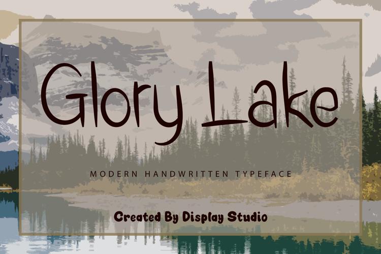 Glory Lake Font