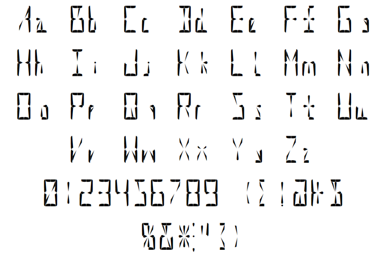 Supernova Display Font