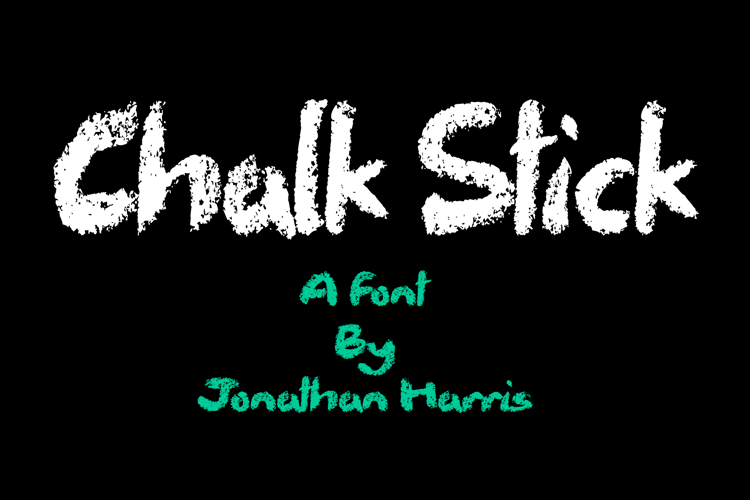 Chalk Stick Font