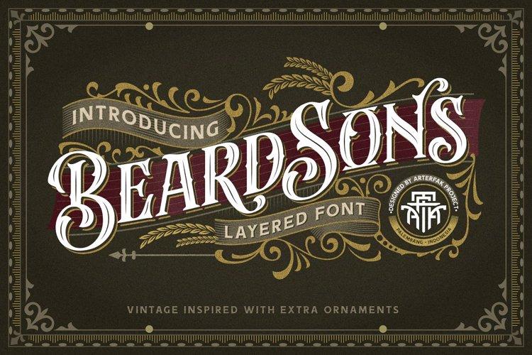 Beardsons Font