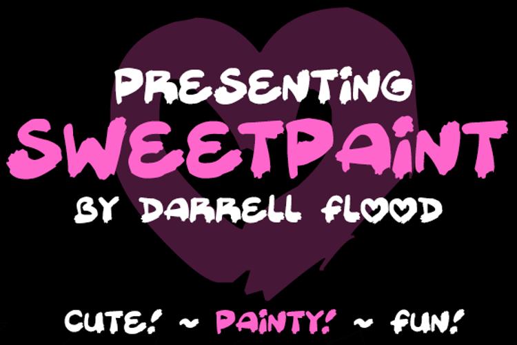 Sweetpaint Font