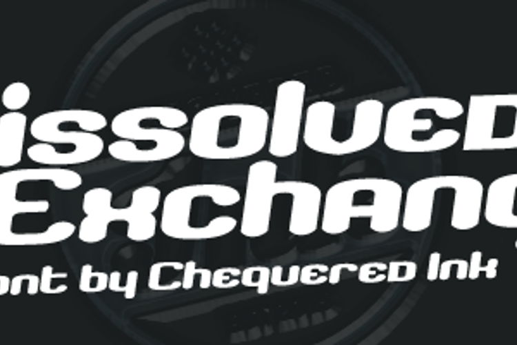 Dissolved Exchange Font
