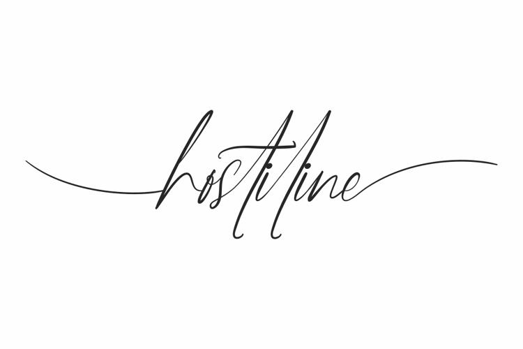 Hostiline Font