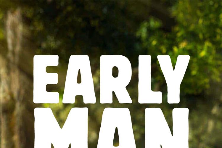 Early Man Font