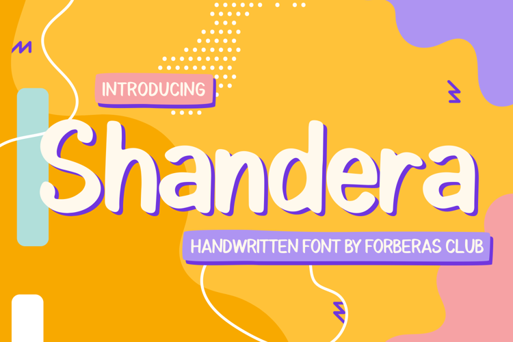 Shandera Font