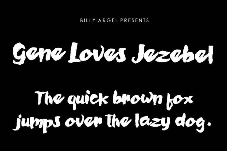 Gene Loves Jezebel Font