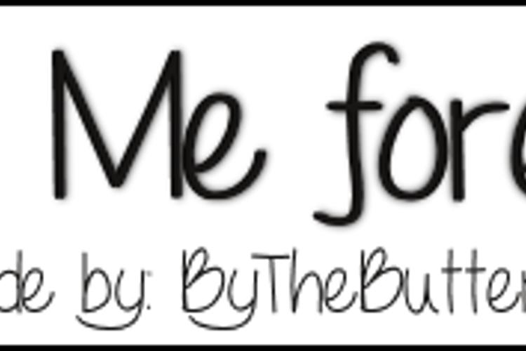 LoveMeForever Font