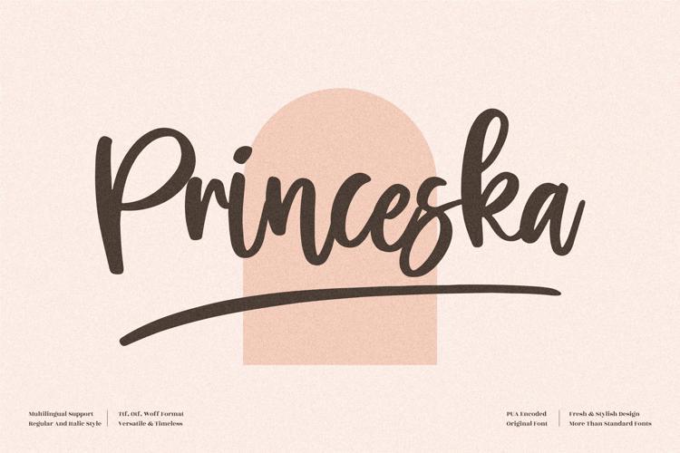 Princeska Font
