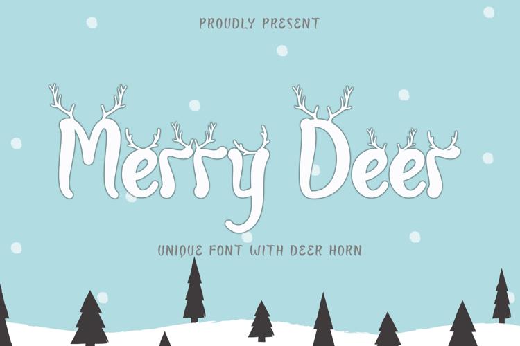 Merry Deer Font