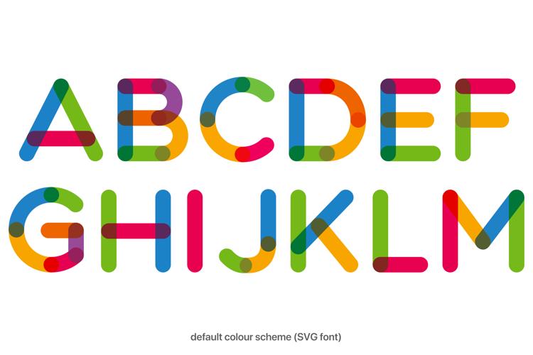 Multicolore Pro Font