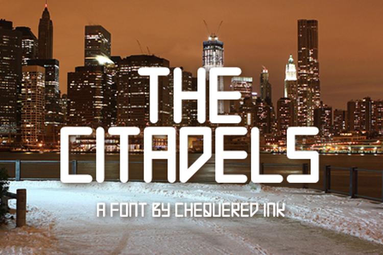 The Citadels Font