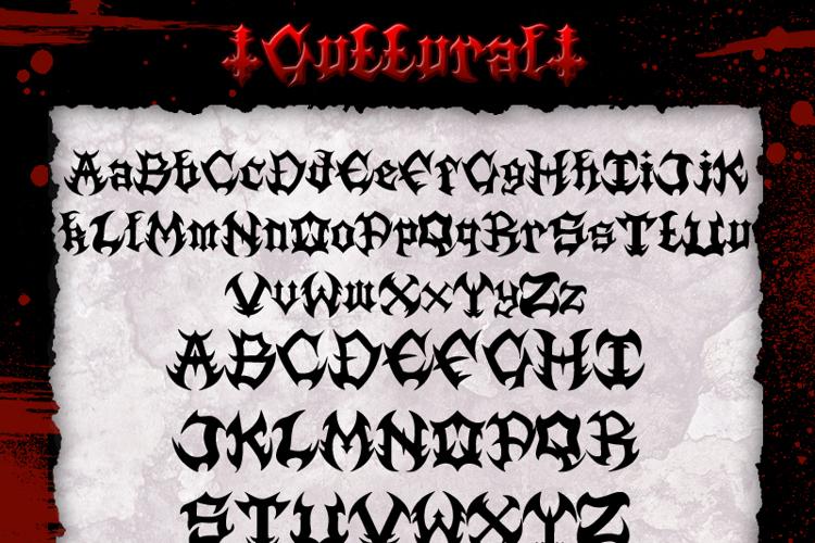 Guttural Font