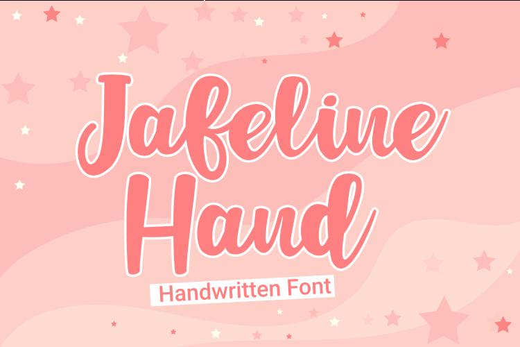 Jafeline Hand Font