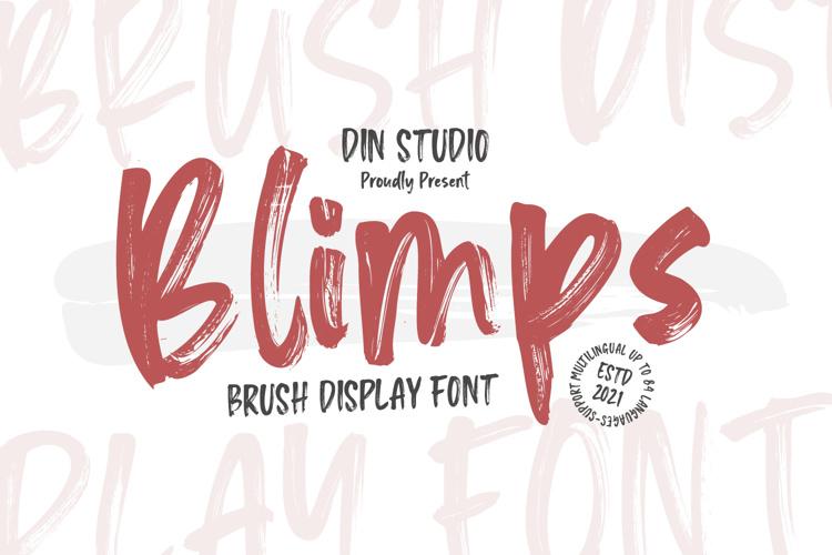 Blimps Font