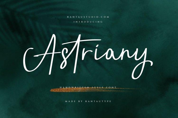 Astriany Font