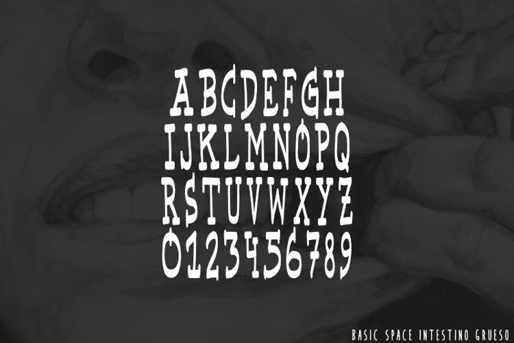 Basic Space Font