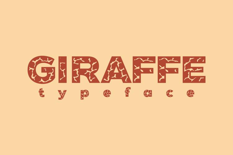 Giraffe Font