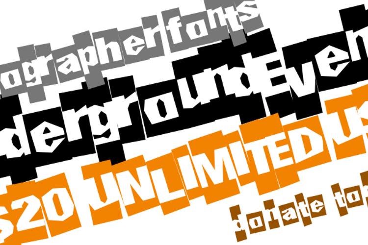 UndergroundEvent Font