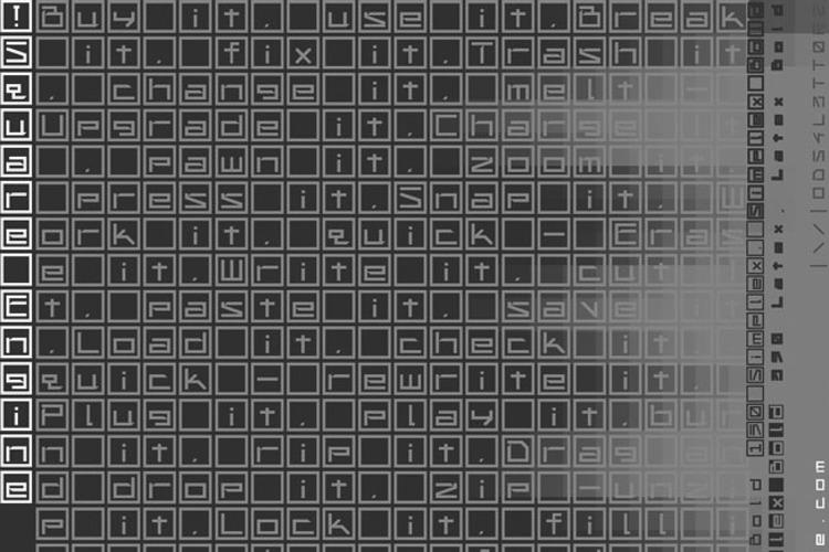!Square Engine 150 Simplex Font