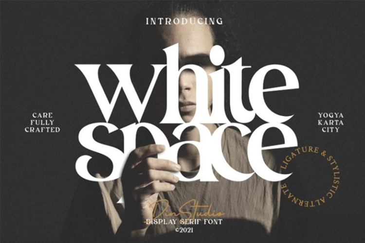 White Space Font