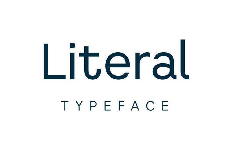 Literal Font