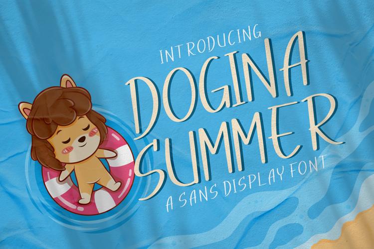 Dogina Summer Font