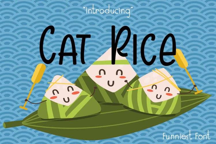 Cat Rice Font