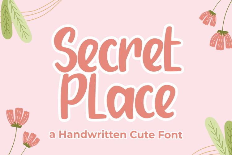 Secret Place Font