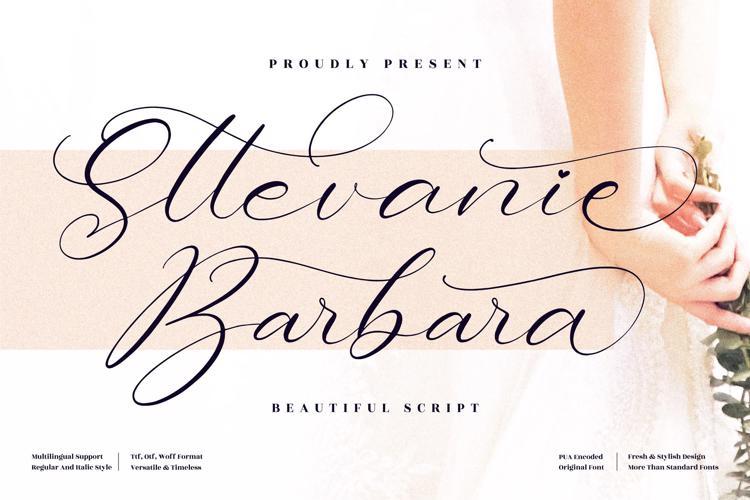 Sttevanie Barbara Font