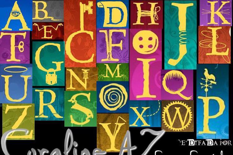 CoralineAZ Font
