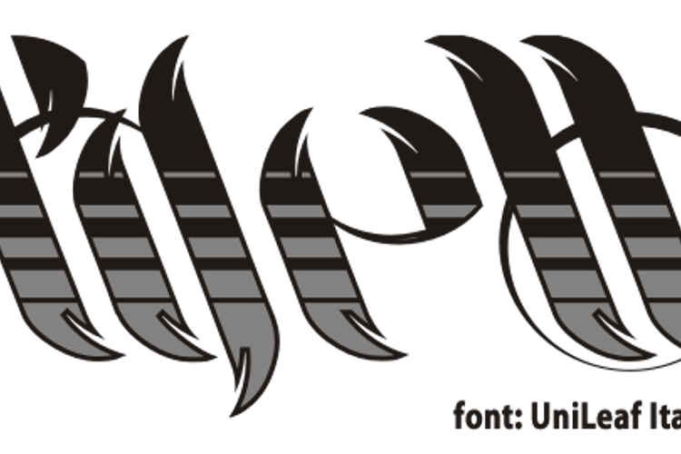 UniLeaf Font