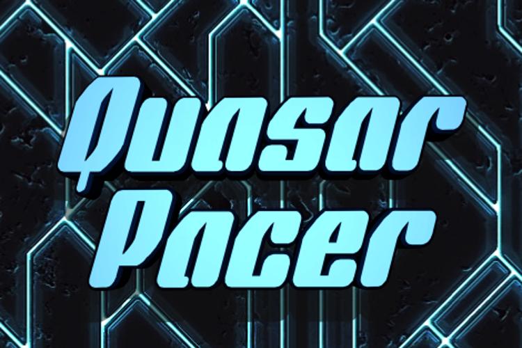 Quasar Pacer Font