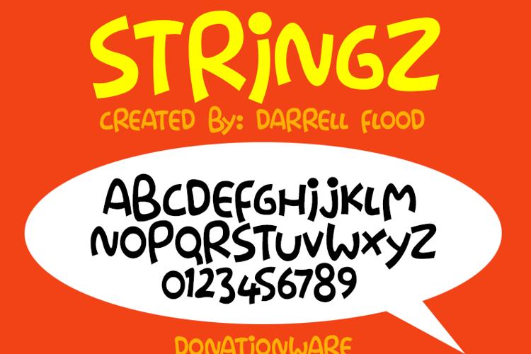 Stringz Font