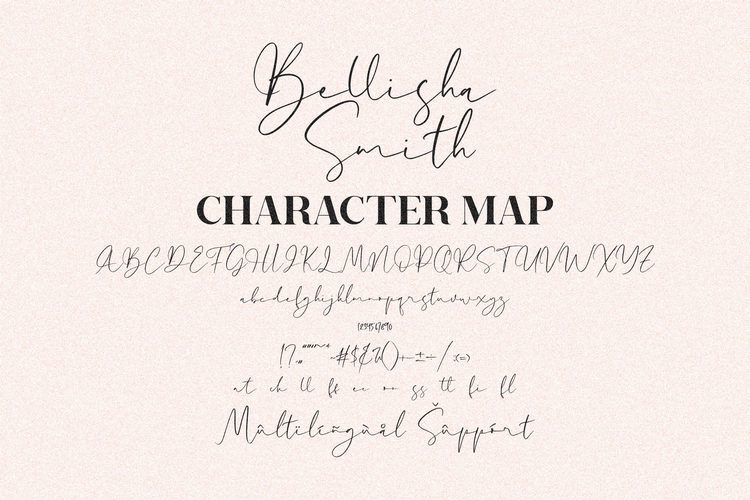Bellisha Smith Font