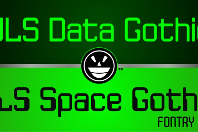 JLS Data Gothic Font