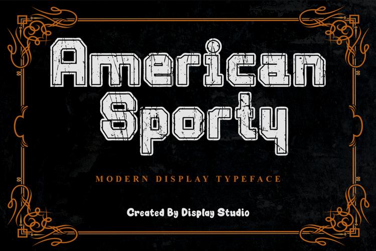 American Sporty Font