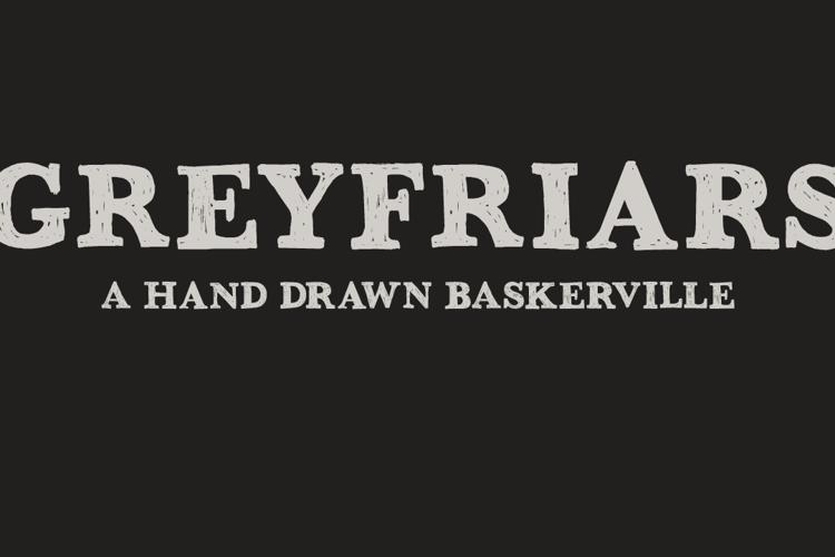DK Greyfriars Font
