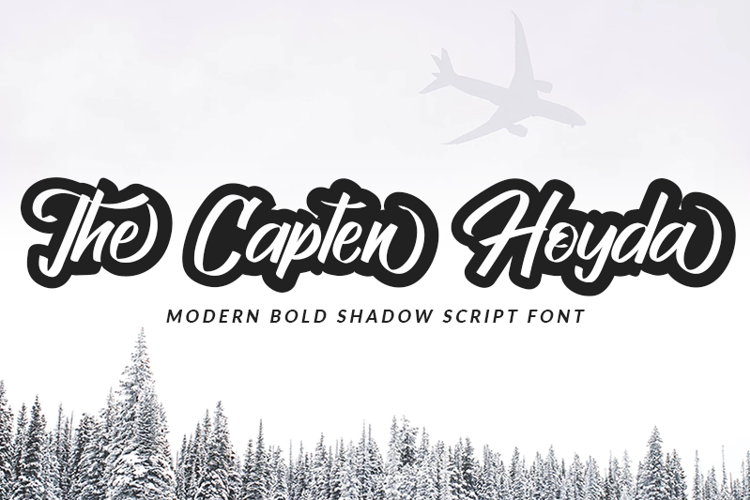 The Capten Hoyda Font