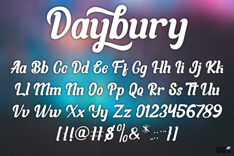 Daybury Font