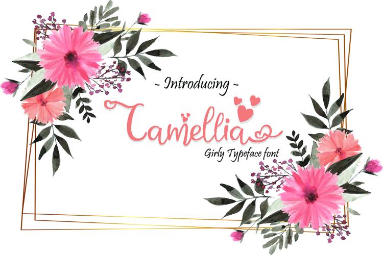 Camellia Font